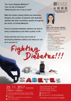 Fighting Diabetes!!!